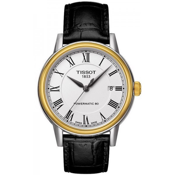 Buy Tissot Men's Watch T-Classic Carson Powermatic 80 T0854072601300