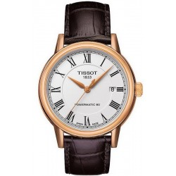 Tissot Men's Watch T-Classic Carson Powermatic 80 T0854073601300