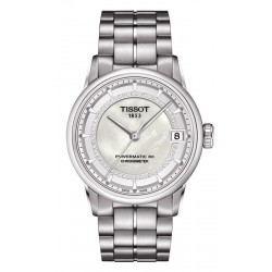 Tissot Women's Watch Luxury Powermatic 80 COSC T0862081111600