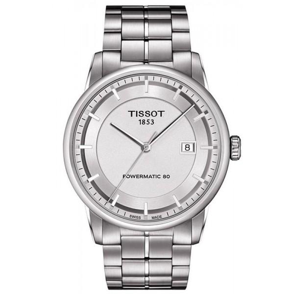 Buy Tissot Men's Watch T-Classic Luxury Powermatic 80 T0864071103100