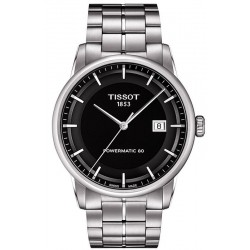 Tissot Men's Watch T-Classic Luxury Powermatic 80 T0864071105100