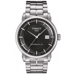Tissot Men's Watch T-Classic Luxury Powermatic 80 T0864071106100