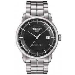 Tissot Men's Watch T-Classic Luxury Powermatic 80 T0864071106100