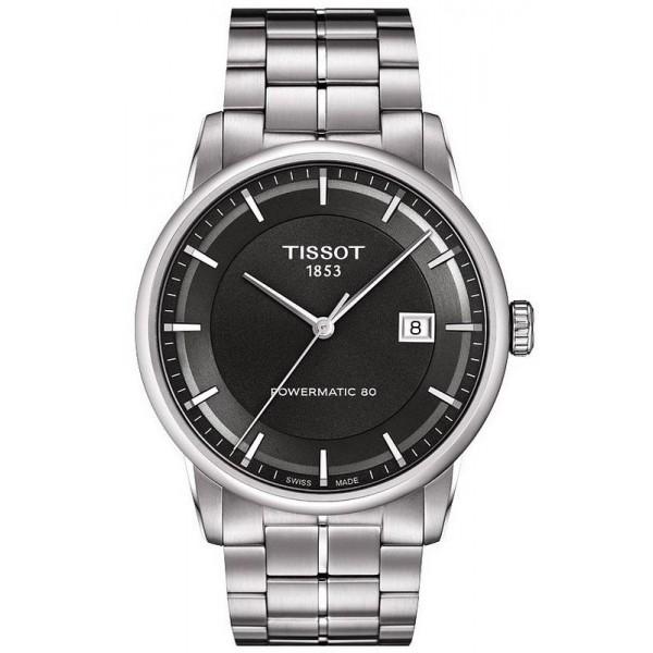 Buy Tissot Men's Watch T-Classic Luxury Powermatic 80 T0864071106100