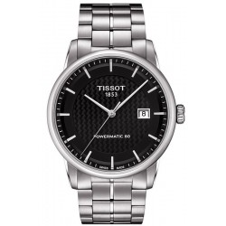 Tissot Men's Watch T-Classic Luxury Powermatic 80 T0864071120102