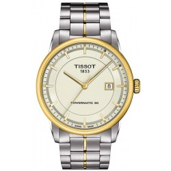 Tissot Men's Watch T-Classic Luxury Powermatic 80 T0864072226100