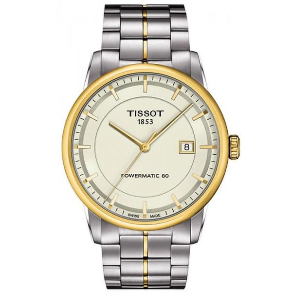 Buy Tissot Men's Watch T-Classic Luxury Powermatic 80 T0864072226100