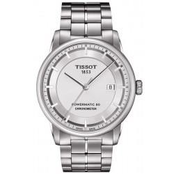 Tissot Men's Watch T-Classic Luxury Powermatic 80 T0864081103100
