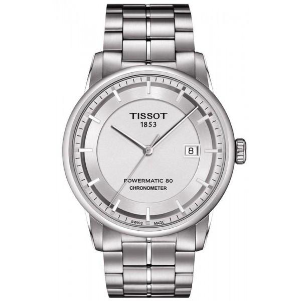 Buy Tissot Men's Watch T-Classic Luxury Powermatic 80 T0864081103100