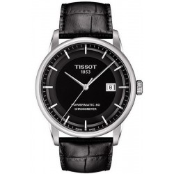 Tissot Men's Watch Luxury Powermatic 80 COSC T0864081605100