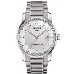 Tissot Men's Watch T-Classic Titanium Powermatic 80 T0874074403700