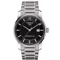 Tissot Men's Watch T-Classic Titanium Powermatic 80 T0874074405700