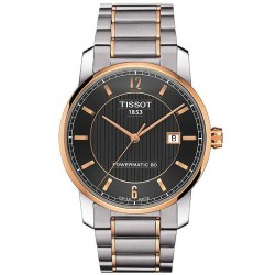 Tissot Men's Watch T-Classic Powermatic 80 Titanium T0874075506700