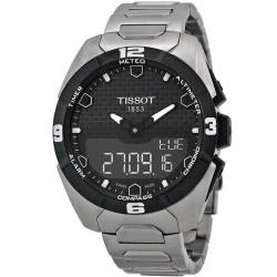 Tissot Men's Watch T-Touch Expert Solar Titanium T0914204405100