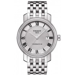 Tissot Men's Watch Bridgeport Powermatic 80 T0974071103300