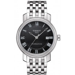 Tissot Men's Watch Bridgeport Powermatic 80 T0974071105300
