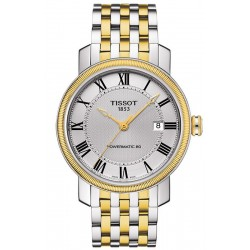Buy Tissot Men's Watch Bridgeport Powermatic 80 T0974072203300