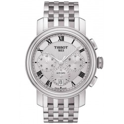 Buy Tissot Men's Watch Bridgeport Automatic Chronograph Valjoux T0974271103300