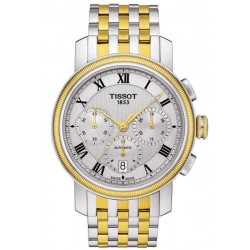 Tissot Men's Watch Bridgeport Automatic Chronograph Valjoux T0974272203300