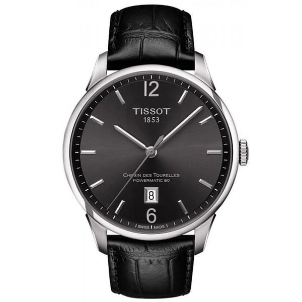 Buy Tissot Men's Watch Chemin Des Tourelles Powermatic 80 T0994071644700