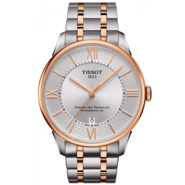Buy Tissot Men's Watch Chemin Des Tourelles Powermatic 80 Helvetic Pride T0994072203801