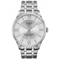 Tissot Men's Watch Chemin des Tourelles Powermatic 80 COSC T0994081103800