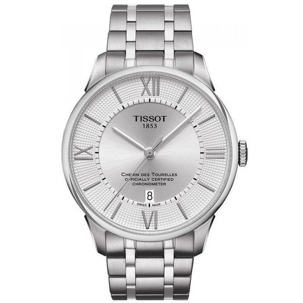 Buy Tissot Men's Watch Chemin des Tourelles Powermatic 80 COSC T0994081103800