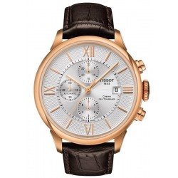 Tissot Men's Watch Chemin Des Tourelles Automatic Chronograph T0994273603800