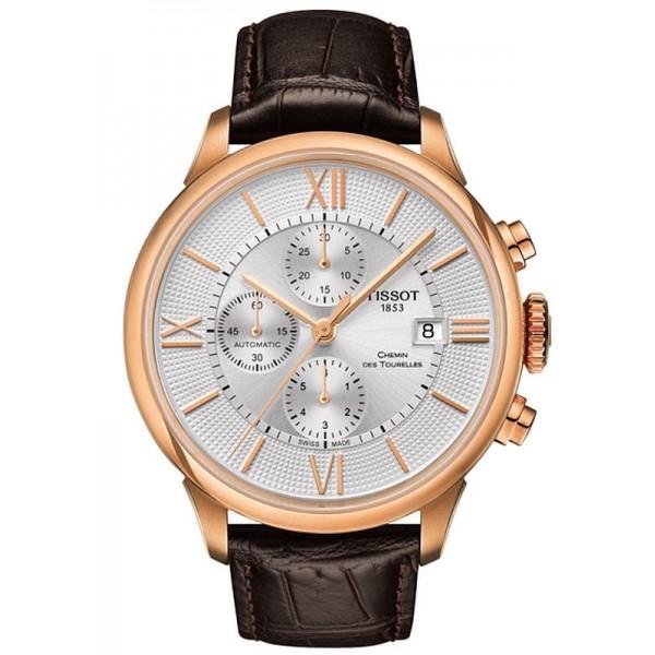 Buy Tissot Men's Watch Chemin Des Tourelles Automatic Chronograph T0994273603800