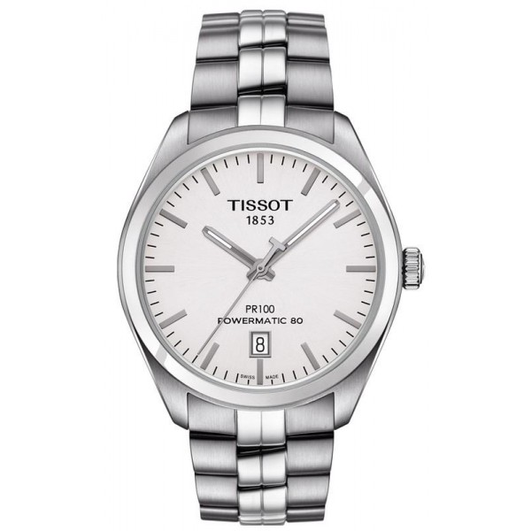 Buy Tissot Men's Watch T-Classic PR 100 Powermatic 80 T1014071103100