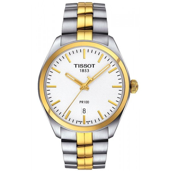 Buy Tissot Men's Watch T-Classic PR 100 Quartz T1014102203100