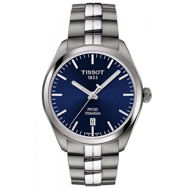 Buy Tissot Men's Watch T-Classic PR 100 Titanium Quartz T1014104404100