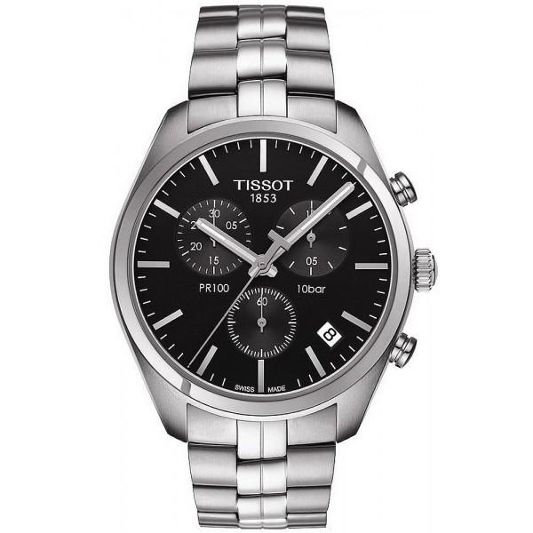 Buy Tissot Men's Watch T-Classic PR 100 Chronograph T1014171105100