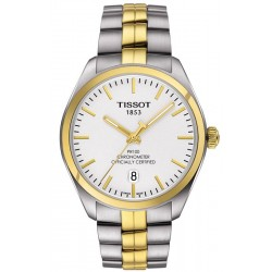 Tissot Men's Watch T-Classic PR 100 COSC Quartz T1014512203100