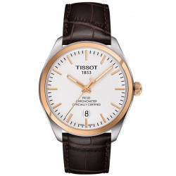 Tissot Men's Watch T-Classic PR 100 COSC Quartz T1014512603100