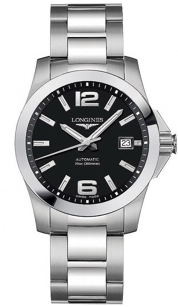 longines l36764586 conquest automatic s at the